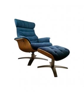 iCare Alaska lænestol med skammel
